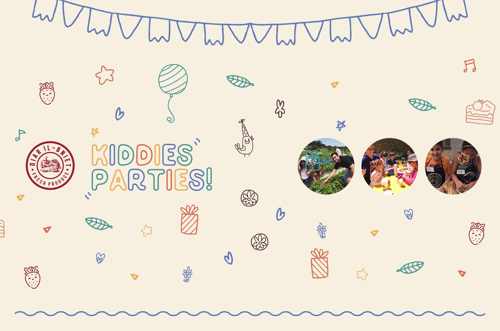 Farm Themed Kiddies Parties